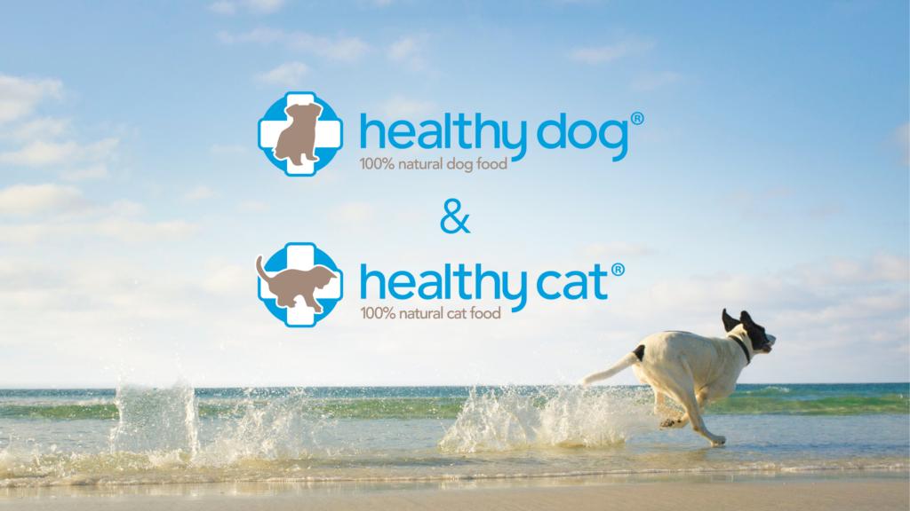 logo samen, healthy dog alle varianten, honden voeding, voeding voor honden, natuurlijk geperste hondenvoeding, granen vrij, gluten vrij, met zalmolie, boss and dog