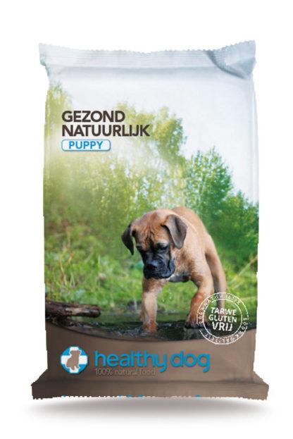 pack PUP, healthy dog alle varianten, honden voeding, voeding voor honden, natuurlijk geperste hondenvoeding, granen vrij, gluten vrij, met zalmolie, boss and dog