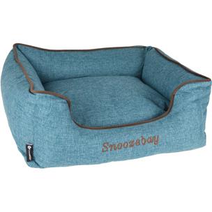 snoozebay blauw 519417, dreambay, hondenmand, mand voor honden, boss and dog, petrol