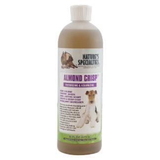 almond crisp 473 ml, hondenshampoo, shampoo voor hond, boss and dog, nature specialities