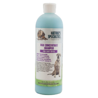 high concentrate 473 ml, prewash, nature specialities, hondenshampoo, shampoo voor honden