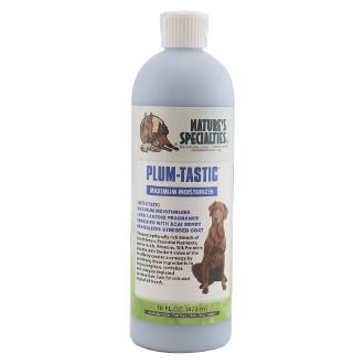 plum tastic mximum moisterizer conditioner, 473 ml, hondenshampoo, conditioner voor honden, boss and dog, nature's specialities