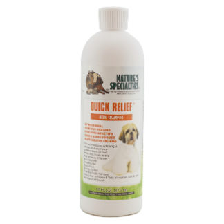 quick relief 473 ml, shampoo, hondenshampoo, boss and dog