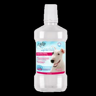 Dental water, sparkle dental water, mondhygiene, frisse adem, hond, boss and dog, AFPH03362
