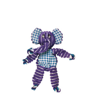 floppy knots bunny, olifant, paarse olifant, kong, speeltouw hond, hondenspeelgoed, speeltje hond, boss and dog
