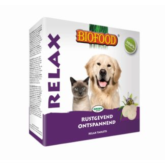 relax tablets, rustgevend en ontspannend, tabletten voor hond, relaxtabletten hond