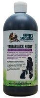 vantablack night shampoo, 946 ml, hondenshampoo, zwarte honden, donkere hondenvacht, natures specialities, boss and dog