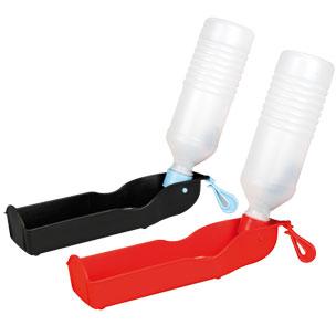 draagbare waterverdeler gulliver, 504300, drinkfles hond, waterverdeler, water, 750 ml, boss and dog
