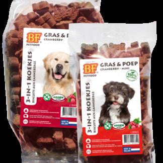 biofood cranberry, hondenkoekje
