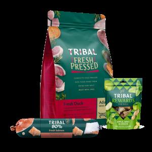 Tribal vleesvoeding&brokken