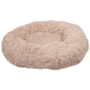 520765 krems beige 50 cm, fluffy mand, ronde mand, hondenmand, donut mand hond, flamingo, boss and dog
