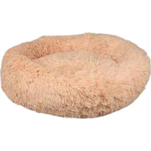 520773 krems creme 50 cm, fluffy mand, ronde mand, hondenmand, donut mand hond, flamingo, boss and dog