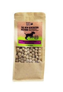 bugsforpets, insecten, snack voor honden, insecten trainer, meelworm en rijs, hondensnack, puppy training, eliminatie dieet