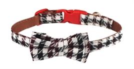 croci halsband hond, hondenhalsband, halsband met strik, klassiek motief