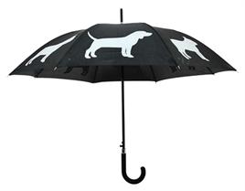 paraplu honden, hondenparaplu, paraplu met hondjes 1
