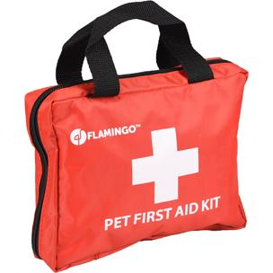 520583, EHBO set, EHBO hond, first aid kit resku premium red, eerste hulp set voor honden