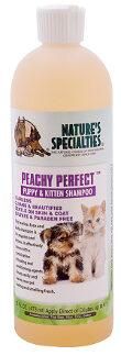 peachy perfect shampoo, 473 ml, nature specialieties, hondenshampoo, shampoo voor hond, perzik, puppyshampoo, puppy, boss and dog