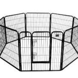 puppyren topmast M, kennel, bench, ren voor pups, puppy, hondenren, puppyren1