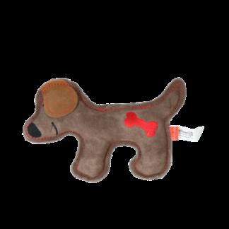 doggy doodles puppy, hondenknuffel, puppyknuffel, doodleknuffel, bruin