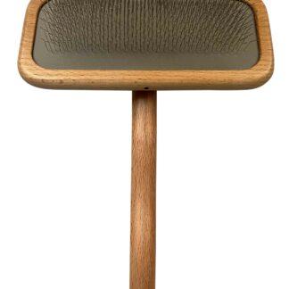 7017, wooden slicker luxe large, luxe slicker, houten borstel hond, hondenborstel.png