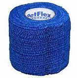 bandage, bandage hond, tape hond, pootjes, blauw