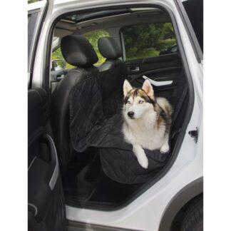 autostoelbeschermer, stoelbeschermer, hond in auto, veiligheid hond, bankbeschermer auto, zwart, beschermdeken auto