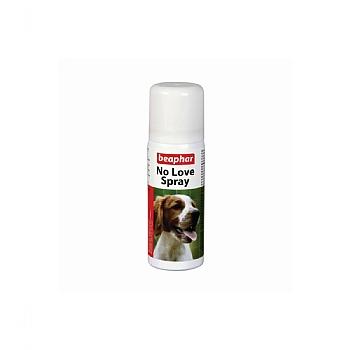 beaphar no love spray, loopse teef, hond, teefje