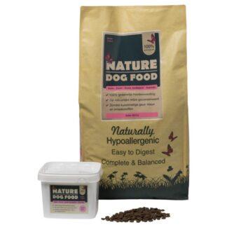 graanvrij-hondenvoer-zalm-brok-1200x800, sanavesta, hondenvoer, hondenvoeding, gezonde hondenvoeding, graanvrij, één dierlijk eiwit