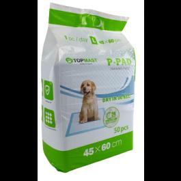 trainingmatten, trainingspads, puppytraining, urine, zindelijkheidstraining, puppy, 60x45 cm
